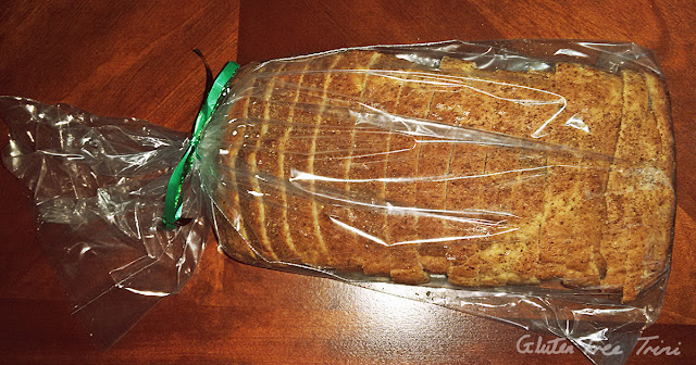 Gluten free and dairy free millet and flaxseed bread from Live Well Trinidad - Gluten Free Shop