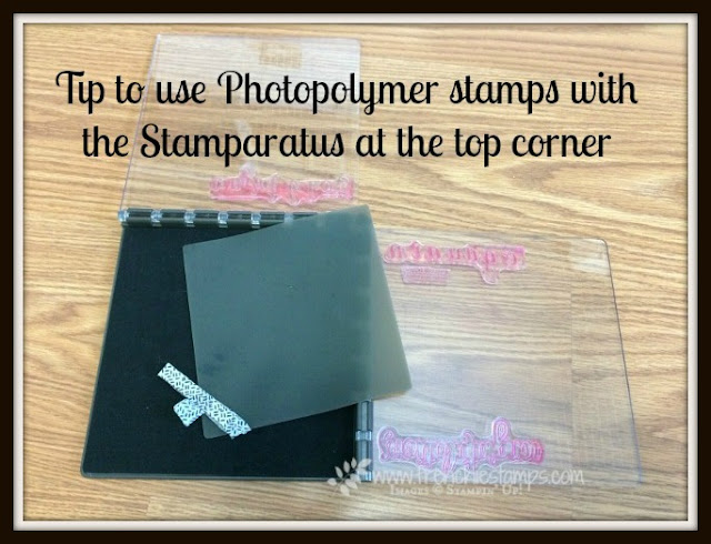 Stamparatus Tip with Photopolymer, Frenchiestamps, Stampin'Up!