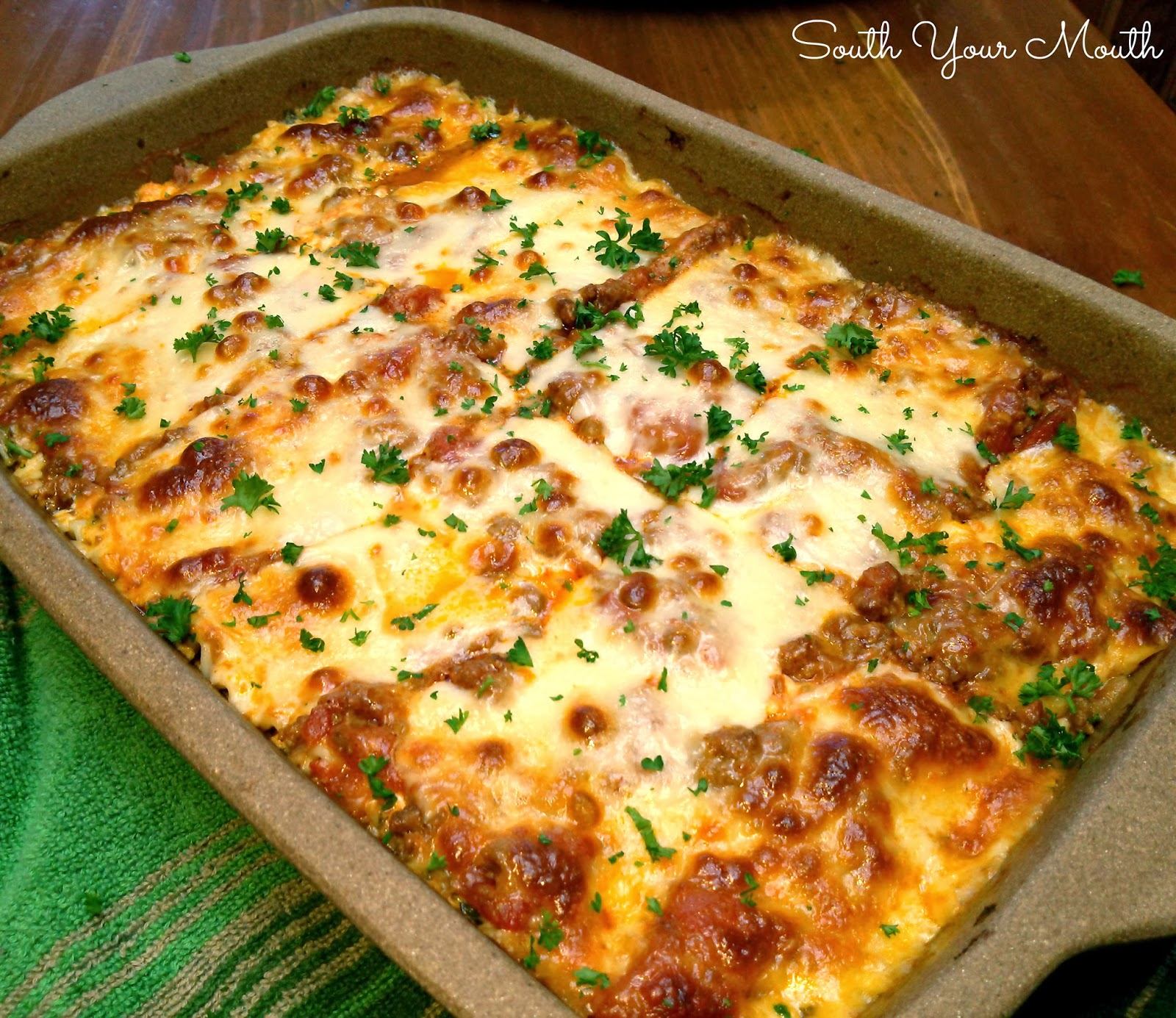 South Your Mouth: Classic Lasagna