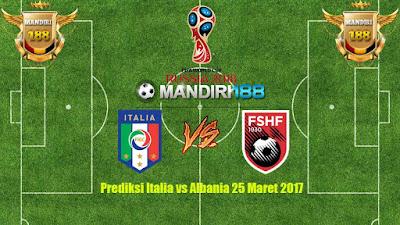 AGEN BOLA - PrediksiItalia vs Albania 25 Maret 2017