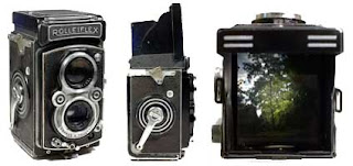 Fotocamera Rolleiflex Binoculare