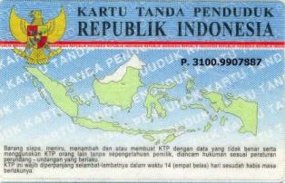 Pengertian dan Sejarah Adanya KTP (Kartu Tanda Penduduk)