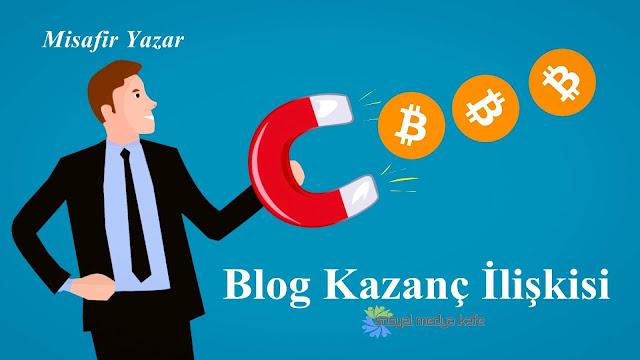 Blog Kazanç İlişkisi