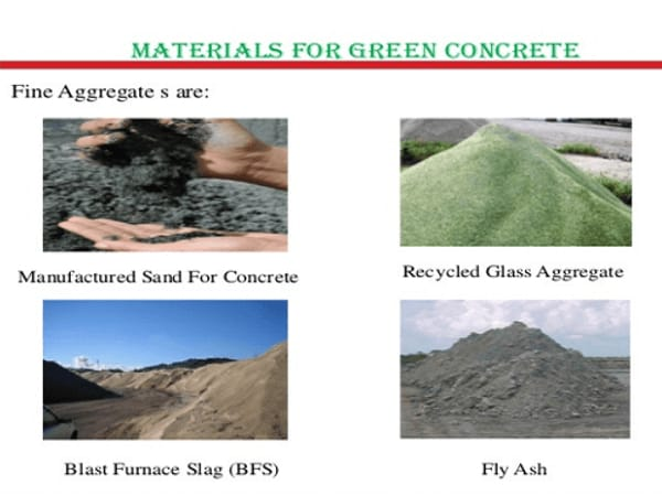 what is green concrete