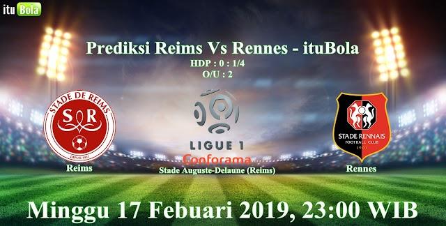 Prediksi Reims Vs Rennes - ituBola