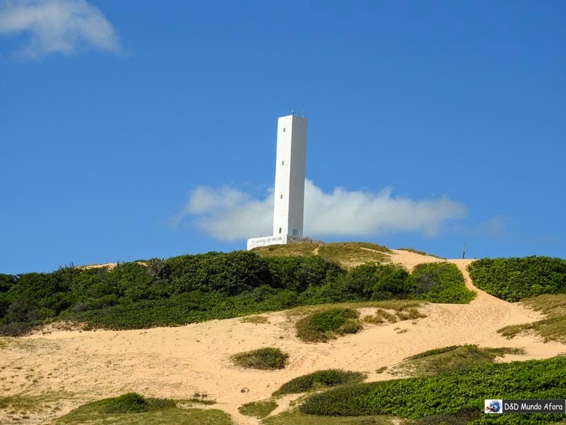 Farol de Morro Branco e Praia das Fontes - Tour 3 Praias