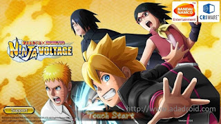 Naruto x Boruto Ninja Voltage v1.04 English Version Apk
