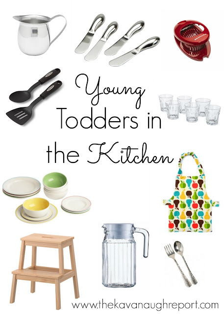There are so many great practical life opportunities for young Montessori toddlers in the kitchen. From food preparation to clean up, toddlers can get involved at every stage.