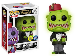 Glow-in-the-Dark Green Sike-O-Shriner Pop!