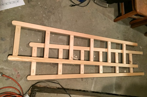 vintage shelving shelf side supports