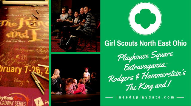 Spending the Day with Girl Scouts and Playhouse Square