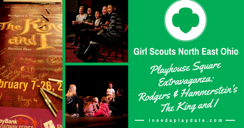 Spending The Day With Girl Scouts At Playhouse Square -3805