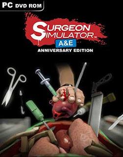 غلاف لعبة إجراء عملية للرئيس أمريكا Surgeon Simulator Anniversary Edition