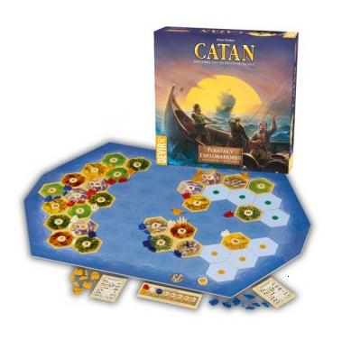Cuarta expansión de los Colonos de Catan, Piratas y Exploradores.Cuarta expansión de los Colonos de Catan, Piratas y Exploradores.