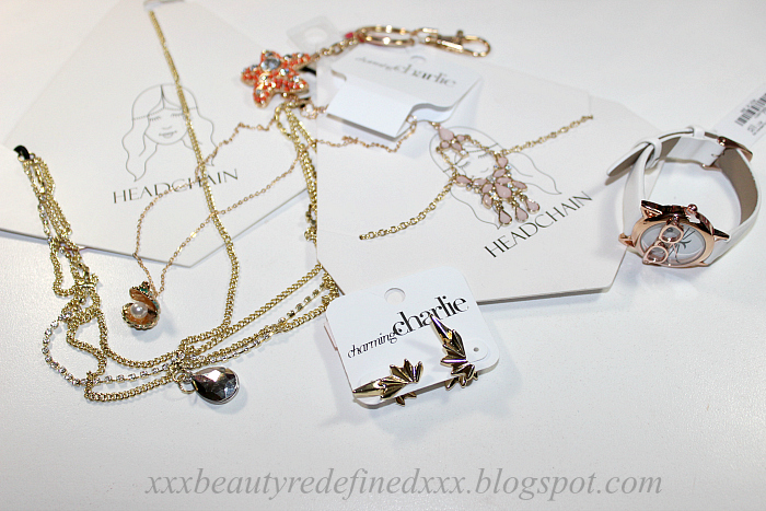 BeautyRedefined by Pang Jewelry Haul Charming Charlie Akribos