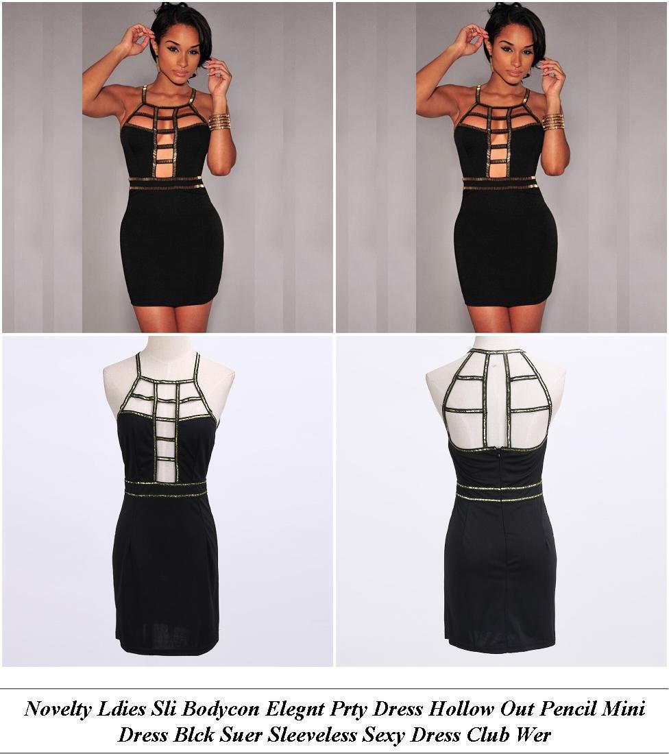 Beach Dresses - Womens Sale - Polka Dot Dress - Cheap Online Clothes Shopping