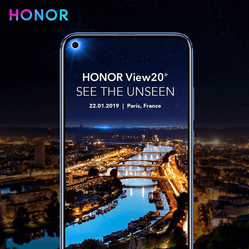 Honor View 20, the first with In-Screen selfie camera and 48MP rear camera revealed!