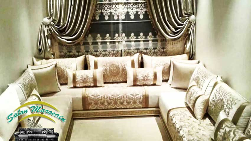 decoration salon 2017 marocain. Black Bedroom Furniture Sets. Home Design Ideas