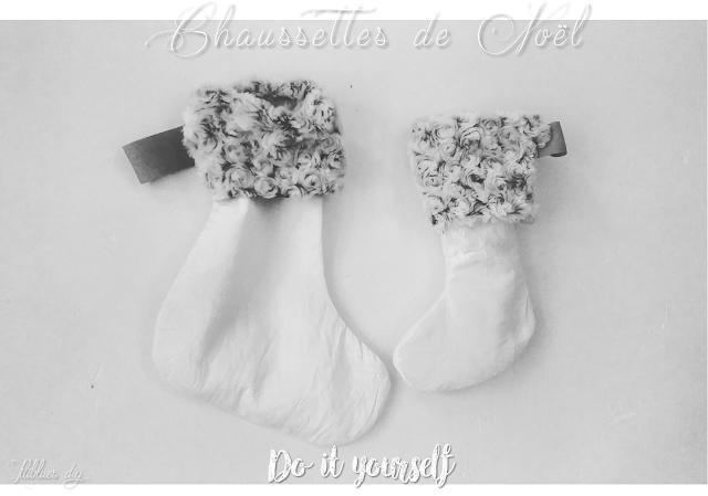 DIY -CHRISTMAS -Sock -chaussette noël