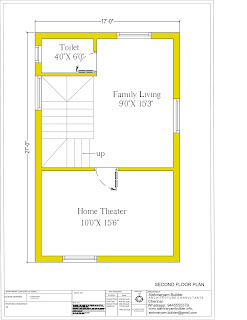 south facing duplex house plan
