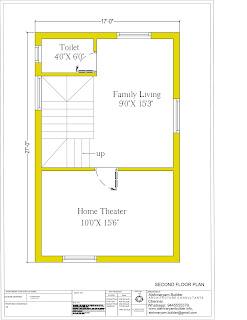 south facing duplex house plan