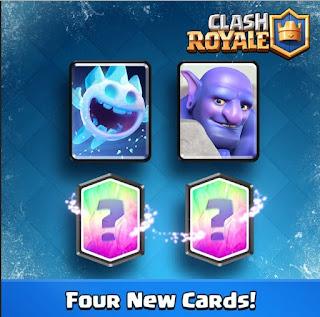 Kartu Baru Clash Royale Ice Spirit dan Bowler
