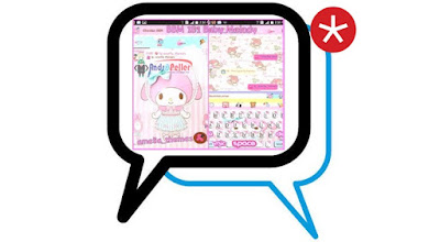 Download BBM MOD Baby Melody Base 3.0.0.18 Update Terbaru [Background Cute]