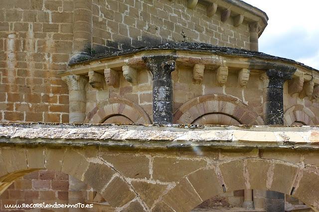 Abside Iglesia Sta Mª de Eunata, Navarra