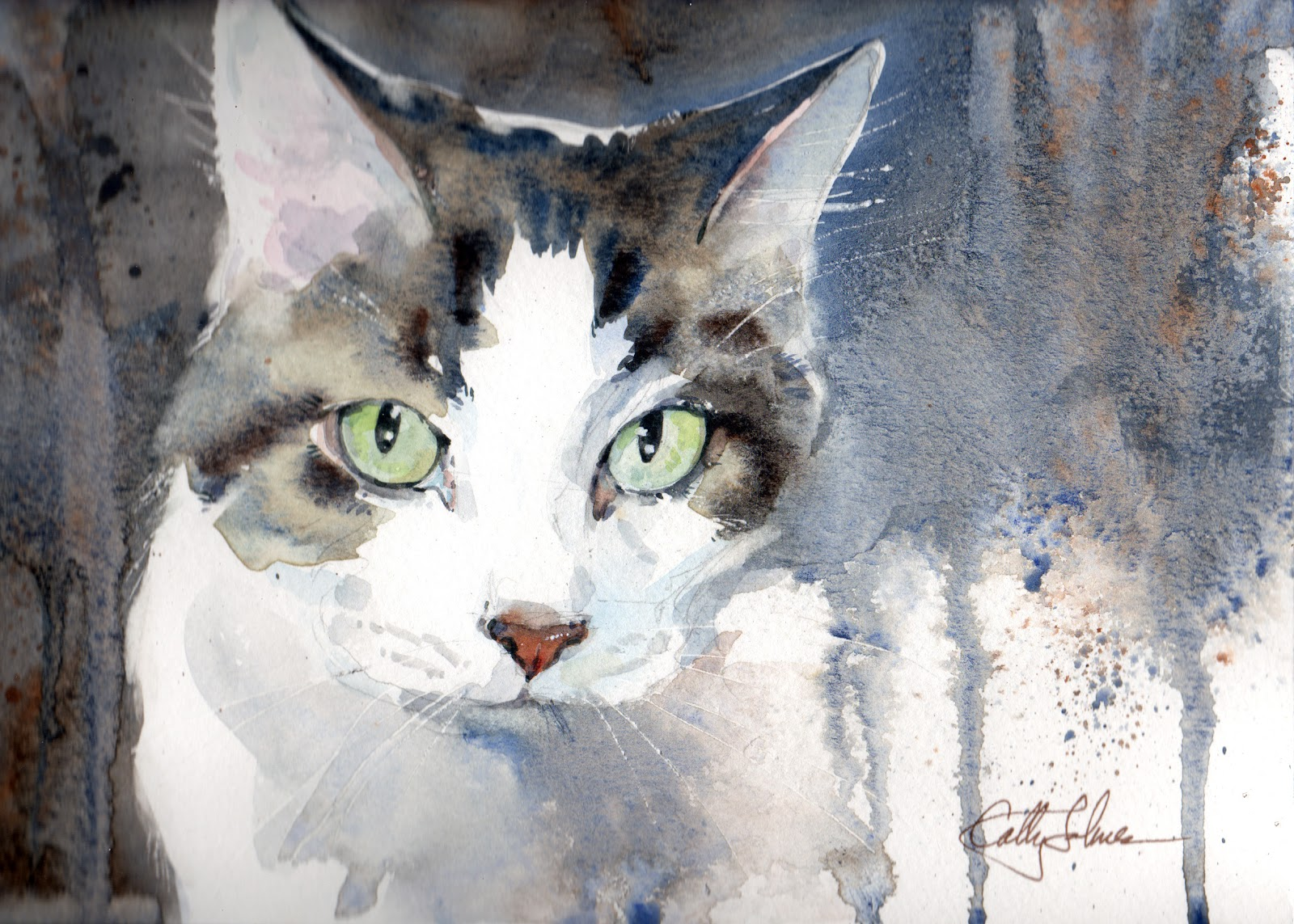 cathy johnson art life and other oddities i ve made cat prints