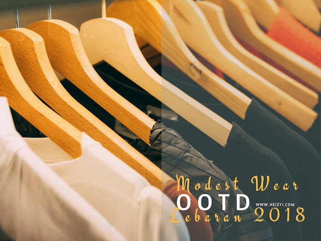 Modest Wear Trend Outfit Lebaran 2018