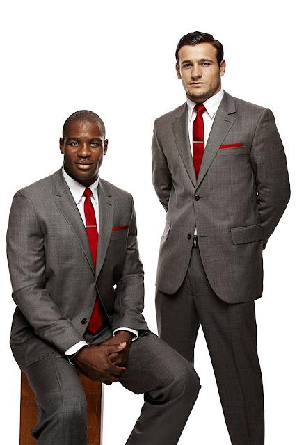 Ugo Monye and Danny Care • Rugby Union Players
