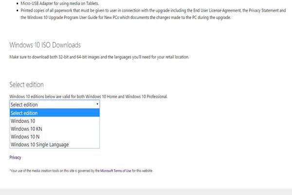 الأن بأمكانك تحميل جميع اصدارات ويندوز بشكل قانوني وبروابط مباشرة !