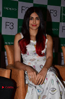 Bollywood Actress Adah Sharma Pos in White Printed Short Dress at OPPO F3 Plus Selfie Expert Mobile Launch .COM 0028.jpg