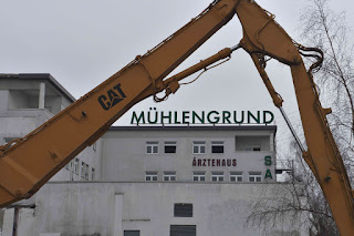 Die HOWOGE-Baustelle Mühlengrund