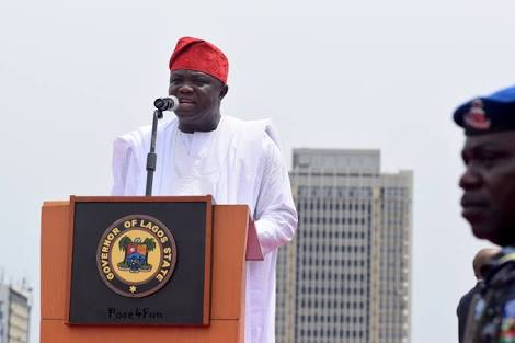AMBODE WINS: Tinubu Stops Rally For Sanwo-Olu In Lagos