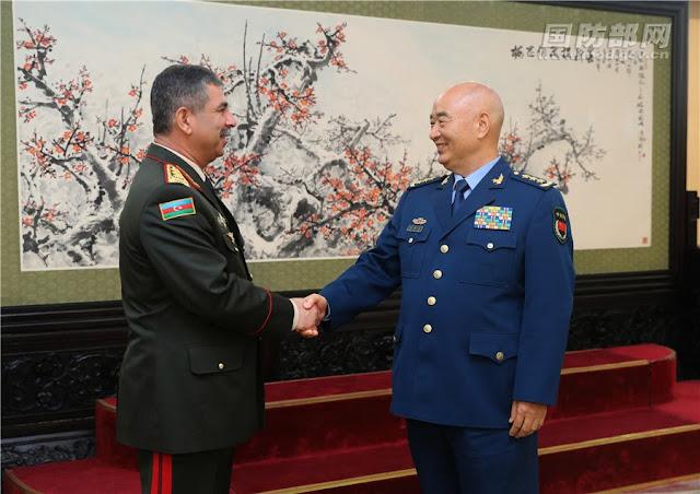 China y Azerbaiyán fortalecerán cooperación militar