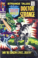Strange Tales v1 #163 nick fury shield comic book cover art by Jim Steranko