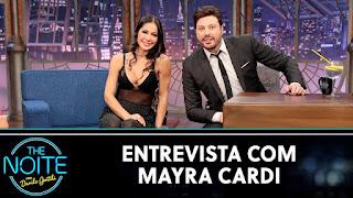 Mayra Cardi fala para Danilo Gentili seu término conturbado com Arthur Aguiar em entrevista
