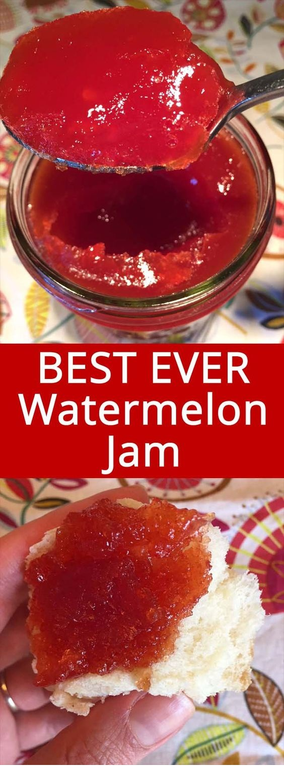 Watermelon Jam - Easy And Foolproof