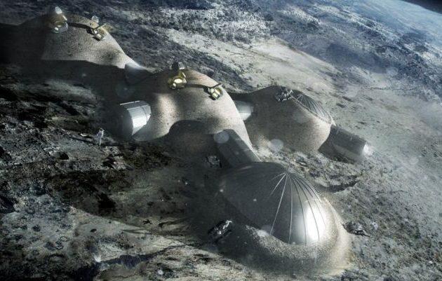 Μεγάλη επιτυχία: «Έλληνας» σχεδιάζει ένα χωριό μέσα σε κρατήρα της Σελήνης! σπουδαίο κατόρθωμα!