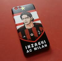 Custom Case Inzaghi AC Milan