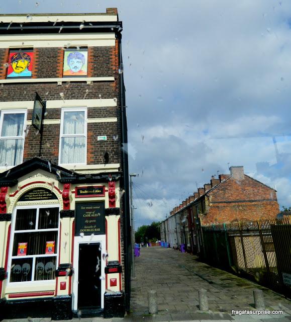 Casa de Ringo Starr em Admiral Grove, Liverpool