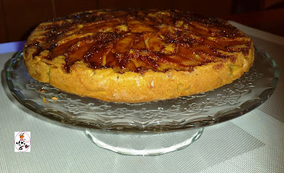 Bizcocho De Manzanas Caramelizadas