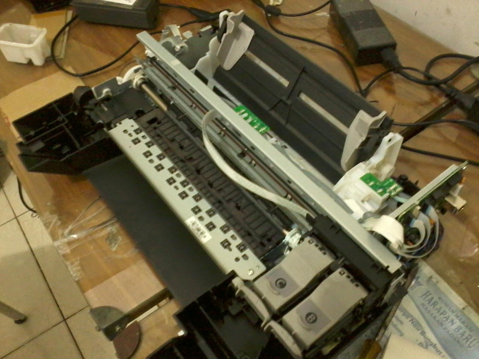 Cara Mengatasi Error 6000 Canon MP237
