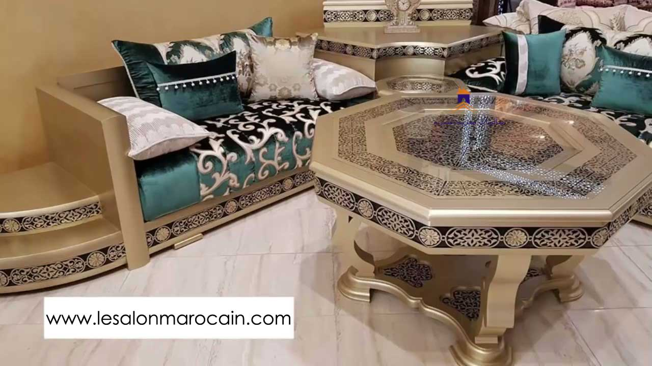 Traditionnel Moderne Salon Marocain 2018