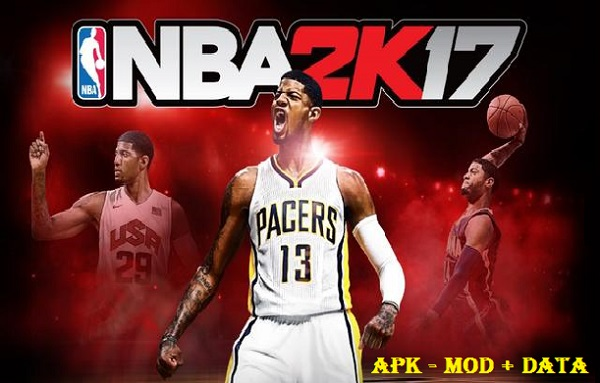 Download NBA 2K17 Apk Mod OBB Data Game