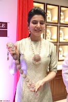 Samantha Ruth Prabhu in Cream Suit at Launch of NAC Jewelles Antique Exhibition 2.8.17 ~  Exclusive Celebrities Galleries 043.jpg