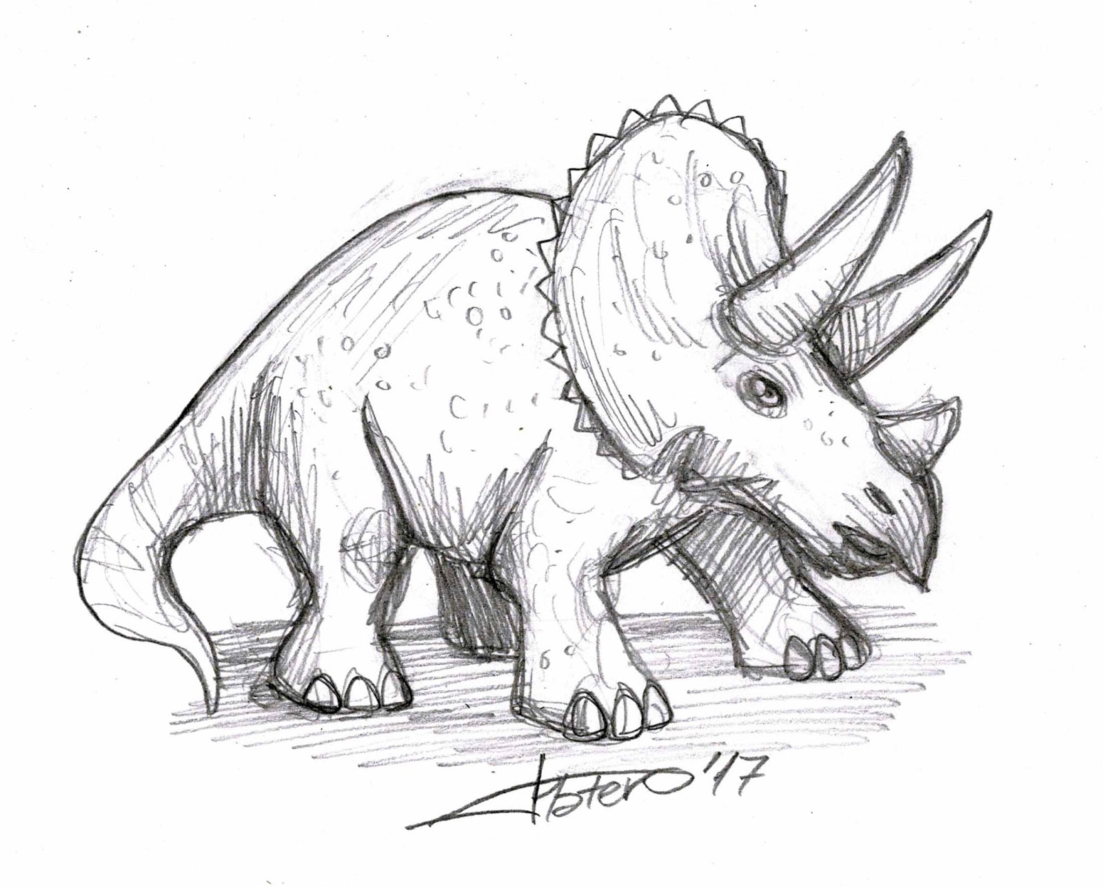 Image Result For Dinosaur Triceratops Coloring