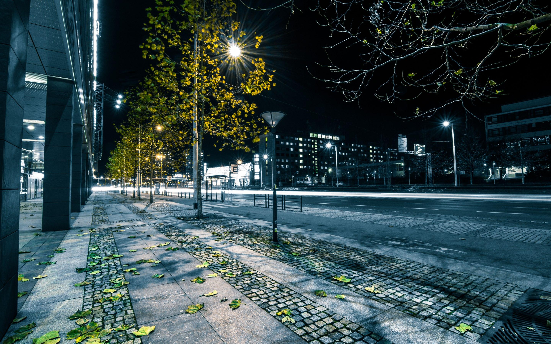 Watchmen Movies Rorschach Night Street Urban Neon Wallpapers