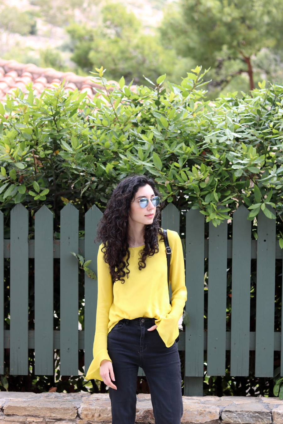 Yellow Top | The Blushful Hippocrene